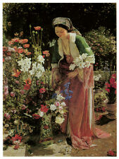1230 Pretty Garden wall Art Decoration POSTER.Graphics to decorate home office.