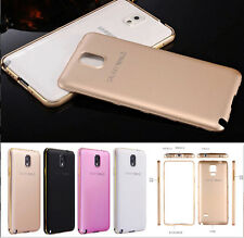 Luxury Aluminum Ultra-thin Metal Hard Case Bumper Frame Cover for Samsung Galaxy