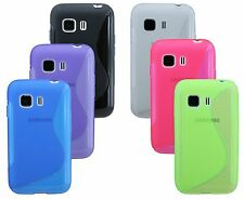 Gel Silicone Cover Silicone Case for Samsung Galaxy Young 2 G130HN + Film