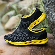 2016 New Fashion Mens Flats Casual Slip-on Mesh Breathable Sneakers Sports Shoes