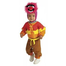 Animal EZ On Romper Costume The Muppets Baby Infant Toddler Boys Halloween