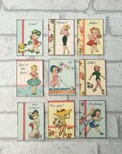 Vintage Retro Lady Style Card Toppers, Gift Tags Craft Make Your Own Cards