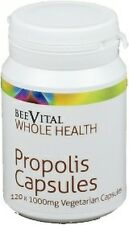BeeVital Propolis 1000mg Capsules - Finest Quality - Various Sizes