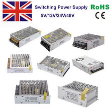 5/12/24/48V Universal Switching Power Supply AC to DC For LED Strip Light & CCTV