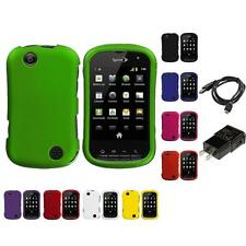 Color Hard Snap-On Rubberized Skin Case for Sprint Kyocera Milano Charger