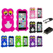For iPhone 5C Cute Frog Case Silicone Rubber Soft Skin Gel Cover  Accessories