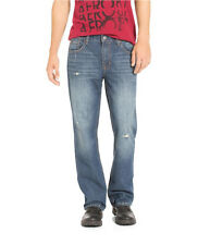 Aeropostale Mens Benton Original Boot Cut Jeans