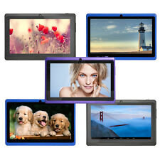 """7"""" Inch 8GB Android4.4 Quad Core Wifi Dual Camera Allwinner A33 Tablet PC Colors"""