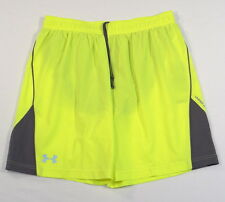 Under Armour Moisture Wicking Neon Brief Lined Running Athletic Shorts Mens NWT