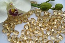 12MM CHAMPAGNE WEDDING TABLE CONFETTI DIAMONDS SCATTER CRYSTALS DECORATIONS
