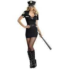 Sexy Cop Costume Police Officer Adult Halloween Fancy Dress