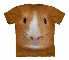 The Mountain Guinea Pig Face Youth  T-Shirt (153444)- Brown