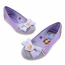Disney Store Princess Sofia The First Costume Dress Shoes Girl Size 11/12