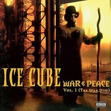 War & Peace 1 (the War Disc) - Ice Cube New & Sealed LP Free Shipping