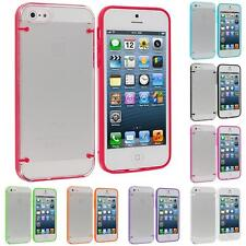 Color Clear Robot Crystal Transparent Hard Snap-On Case Cover for iPhone 5 5G