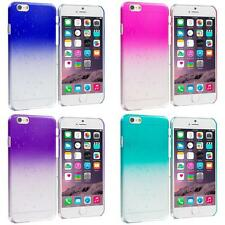 For Apple iPhone 6 Plus Crystal Raindrop Waterdrop Hard Case Cover Clear Color