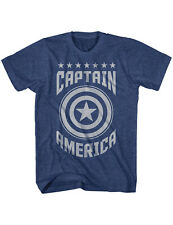 NEW NWT Captain America Vintage-style Logo, Marvel Patriot  T-Shirt