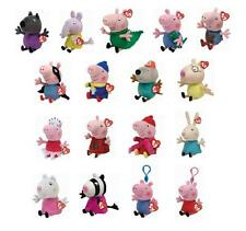 Ty Peppa Pig Beanies & Key Clips Plush Soft Toy Choose from a large selection