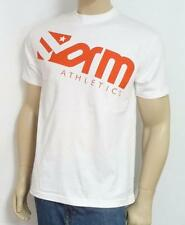 Form Athletics Star Double Logo White 100% Cotton T-Shirt New NWT