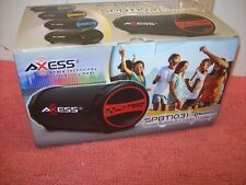 Bluetooth Wireless Sound System Portable Outdoor Speaker FM Radio Stereo, Axess