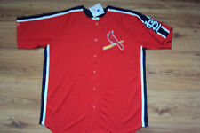 ST. LOUIS CARDINALS NEW MLB MAJESTIC CROSSTOWN RIVALRY JERSEY