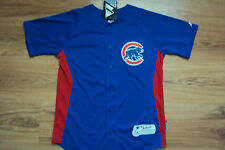 CHICAGO CUBS NEW MLB MAJESTIC AUTHENTIC COOL BASE KIDS JERSEY