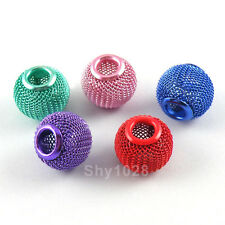 5Pcs Lantern Spacer Bead Cages 12x14mm,5mm Hole,5Colors-1 Or Mixed R5103