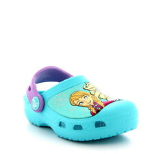 Kids Girls Crocs Frozen Beach Elsa Clogs Anna Summer Shoes Disney Sandals US 2-3