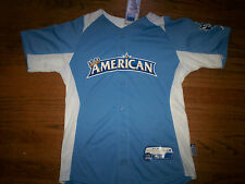AMERICAN LEAGUE NEW MLB MAJESTIC AUTHENTIC COOL BASE 2012 ALL-STAR KIDS JERSEY