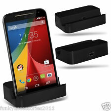 Desktop Charging Dock Stand Charger Micro USB✔Vodafone Smart Grand