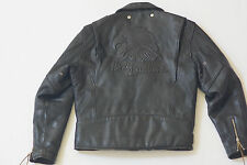 Harley Davidson Men's Vintage ORIGINAL Screamin Eagle Leather Jacket M Tall RARE