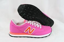 NEW Womens NEW BALANCE 501 WBD Bright Pink White Orange Sneakers Shoes