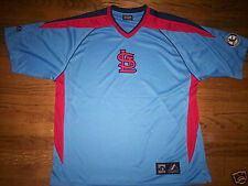 ST. LOUIS CARDINALS NEW MLB MAJESTIC COOPERSTOWN IMPACT JERSEY