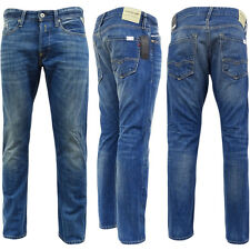 Mens Replay Lightwash Jean - Waitom [Regular-Slim Fit Denim Jeans]