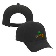 IRISH FLAG Embroidery Embroidered Adjustable Hat Cap