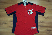 WASHINGTON NATIONALS NEW MLB AUTHENTIC MAJESTIC COOL BASE JERSEY