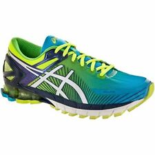 ASICS GEL KINSEI 6 YELLOW WHITE BLUE MENS RUNNING SHOES **FREE POST WORLDWIDE