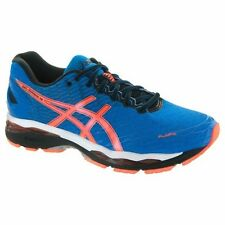 ASICS GEL NIMBUS 18 BLUE ORANGE BLACK MENS RUNNING SHOES **FREE POST WORLDWIDE