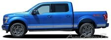 2015-2016 ROCKER ONE Lower Door Vinyl Graphics Kit Decals Stripes for Ford F-150