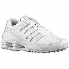 NIKE SHOX NZ 2016 WHITE MENS RUNNING ATHLETIC SHOES **FREE POST AUSTRALIA