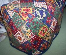 Quilt Squares Quilted Fabric 2-Slice or 4-Slice Toaster Cover NEW
