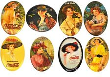 Vintage 1970s Coca-Cola USA Pocket Mirror Mirror Coke 70's Pocket Mirrors