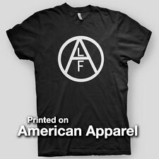 ANIMAL LIBERATION FRONT vegan sXe ALF Earth Crisis AMERICAN APPAREL T-Shirt