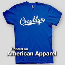 CROOKLYN nyc New York City BASEBALL Robinson BROOKLYN AMERICAN APPAREL T-Shirt