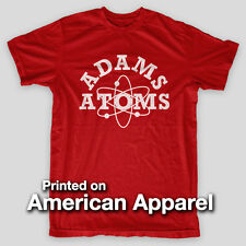 ADAMS ADDAMS Adams College LAMBDA Reveng Nerds AMERICAN APPAREL T-Shirt
