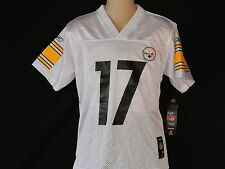 Pittsburgh Steelers #17 Mike Wallace Jersey Youth Sizes Football Reebok Dolphins