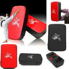 Muay Thai MMA Taekwondo Boxing Kick Punching Bag Pad Foot Target Training Gear