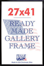 27x41Deluxe Poster Frame w/Plexi-Glass - 3 Colors!