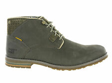 New Mens CAT Caterpillar Collins Mid Snare Leather Ankle Lace Boots Size 6-12