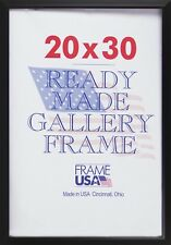 20x30 Budget Poster Frame Pack of 6 - Available in Black or Cherry